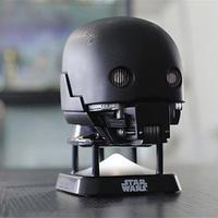TKDS  스타워즈 K-2SO 헬멧 미니 블루투스 스피커