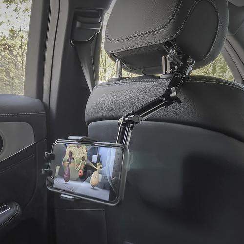 ARKON 아콘 무선N오토 멀티앵글 차량용 헤드레스트 무선충전 핸드폰 거치대 복합형 AWC3-RSHM96