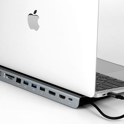 커네틱 11in1 멀티허브 USB C 도킹스테이션 CFH-119GY