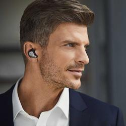 Jabra 자브라 Evolve 65t UC 블루투스 트루 와이어리스 이어폰(PC연결 가능)