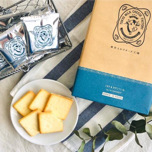 TOKYO MILK CHEESE FACTORY  도쿄밀크치즈팩토리 솔트 & 까망베르 치즈 쿠키