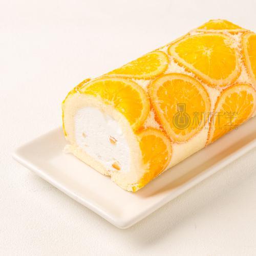 SHINKINEDO  신키네도 오렌지 밀크 롤 크림 케이크