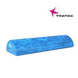 TRATAC  EVA 폼롤러 반원형 블루 45cm