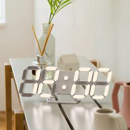 FLaiTO  플라이토 3D LED 탁상시계 미니 시즌3 LG전구 25cm 화이트