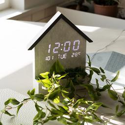FLaiTO  플라이토 우드 하우스 인테리어 LED 벽시계