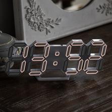 FLaiTO  플라이토 라인 미니 3D LED 탁상 벽시계 LG전구 25cm